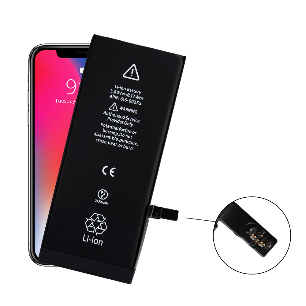 3.82V Original Iphone 7 Battery Replacement 1960mAh 0 Cycle For Replacement