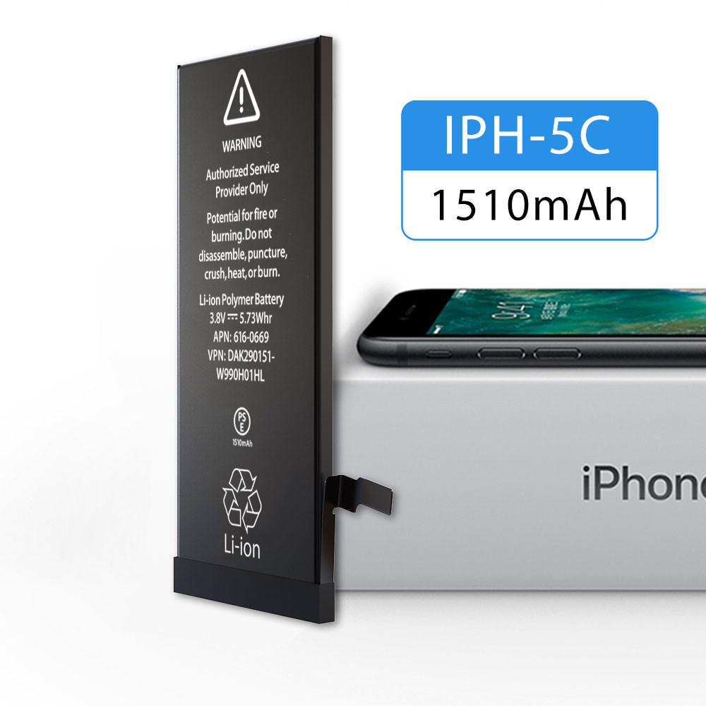 1 Year Warranty Apple Iphone 5 Battery A Grade Polymer 1510mAh Capacity Eco - Friendly